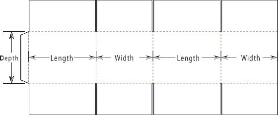 stock carton dimensions